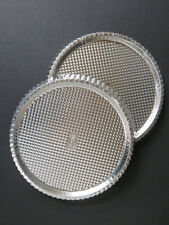 """The Pampered Chef Torte Quiche Pie Tart Pans 10""""  ~ Lot of 2 (P4)"""