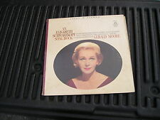 1966, AN ELIZABETH SCHWARZKOPF SONG BOOK, ANGEL 36345, GERALD MOORE PIANO,