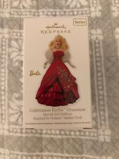 Celebration Barbie Ornament Special 2012 Edition Inspired By Holiday Barbie Doll