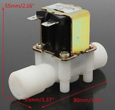 """DC 12V Electric Solenoid Valve Magnetic N/C Water Air Flow Switch 1/2"""" BBC"""