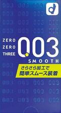 USA Seller Japanese Okamoto Smooth Condom 003 0.03 Ultra Thin 10 Pcs