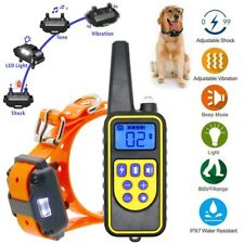 Rechargeable 2600 Ft Remote Dog Training Shock Collar Waterproof Hunting Trainer