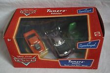 Disney Pixar Cars Supercharged Series Tunerz Gift Pack Snot Rod Boost DJ NEW