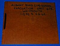 1939-42 WWII Evacuation Unit Photo Album