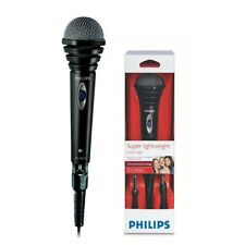 MICROFONO CON CABLE PHILIPS CABLE 1,5M GUARDAVIENTOS SBCMD110/00 GARANTIA