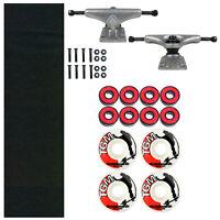 Skateboard Kit Blind Trucks 4.25 Truck + Griptape, 52mm Wheels and Hardware