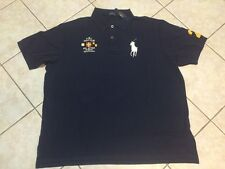 POLO RALPH LAUREN Classic Fit BIG PONY Mesh Shirt Nautical Navy L NWT $98