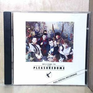 Frankie Goe To Hollywood - Welcome To The Pleasuredome (CD, 1984 Island) d515