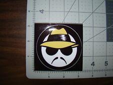 yellow hat Lowrider man sticker lowrider window sticker cholo sticker window