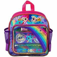 6pc Filled Shimmer and Shine Backpack Set Girls School Stationery Childrens Gift
