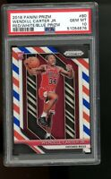 2018 Panini Red White Blue Prizm #80 Wendell Carter Jr. Bulls RC Rookie PSA 10