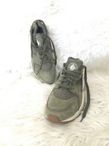 "NIKE AIR HUARACHE ""CARGO KHAKI"" shoes Sneakers size us 7 EUR 40"