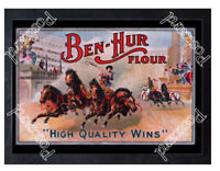 Historic Ben-Hur Flour ca 1880 Advertising Postcard