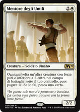 MTG MENTOR OF THE MEEK RUSSIAN EXC - MENTORE DEGLI UMILI - M19 - MAGIC