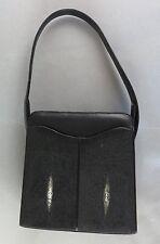 Genuine Stingray Handbag Shoulder Bag Purse by P.Leather
