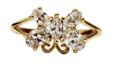 18K Gold Filled Flawless Zircon Women's Ring size 9 - FREE Shipping