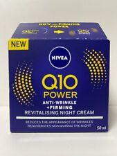 NIVEA Q10 POWER ANTI WRINKLE FIRMING REVITALISING NIGHT CREAM 50ML