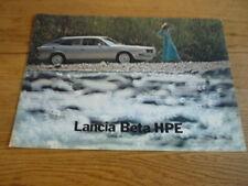 LANCIA Beta HPE, 1975 AUTO opuscolo JM