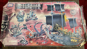 Mega Bloks Pirates of the Caribbean At World's End 1091 Pirate's Peril