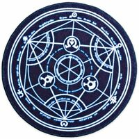 Fullmetal Alchemist Brotherhood Transmutation Circle Doormat Bath Mat Large 24""