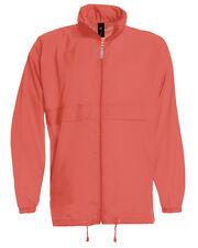 Men Ladies Women Unisex Water Repellent Jacket Showerproof Kagoul Parka Rain Mac