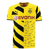 Puma BVB Borussia Dortmund Signature Shirt Trikot 2015 mit Unterschriften Herren