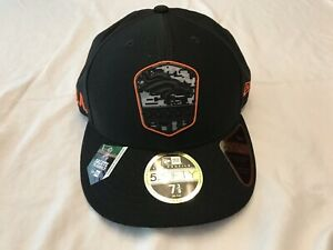 DENVER BRONCOS NFL SALUTE TO SERVICE NEW ERA 59FIFTY BLACK FITTED HAT/CAP 7 3/8