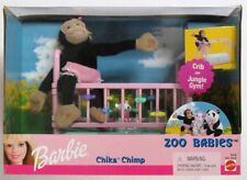 Barbie Zoo Babies Chika Chimp Plush Playset (NEW)
