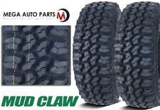 2 Mud Claw Extreme Mt Lt26575r16 123120q All Terrain Off Road Truck Mud Tires