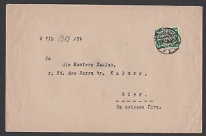 Germany. Danzig. Official Dienst Marke Cover to Hier?