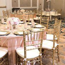 400 Gold Chiavari chairs