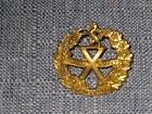 WW2 Canadian Collar Badge 10th Highland Cadets Montreal