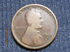 1912 D Lincoln Wheat Cent  ~ Album Hole Filler Key Coin ~ Lower Grade