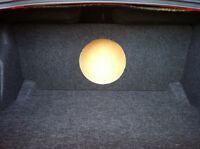 Custom 08+ Dodge Challenger Sub Box Subwoofer Enclosure - Concept Enclosures
