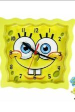 Sponge Bob Spongebob Square Pants  Wall Clock Childs Childrens 3D Clock