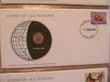 Coins of All Nations Western Samoa 1 Sene 1974 UNC