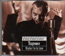 (CF540) Wet Wet Wet, Yesterday Maybe I'm In Love - 1997 CD