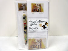 New Chihuahua Pet Dog List Pad Note Pad Magnet Pen Stationery Gift Pack CHI-8