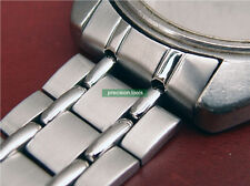 19mm Stainless Steel Railroad Type Replacement Bracelet For 6139-6010 6012 6019