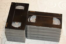 25 x Video Kassette Leer Fuji Super HG E-30 VHS BULK ohne Schuber = 2 € / St.