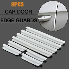8Pcs White Car Auto Door Edge Defender Protector Trim Guard Protection Strip AU