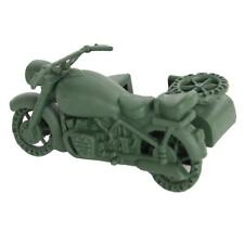 Military Army Base WWII German Motorbike Model for Sand Scene Model Toy Gift