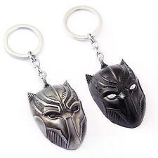 New Captain America Civil War Black Panther Alloy Key Chain Keyring Metal Gift