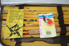 Vintage Wright & McGill Eagle Claw Trail-master 8 Pc. Pack Rod-Trp603