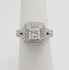 Vera Wang LOVE Collection 2 1/4CT Diamond Engagement Wedding Ring 14K White Gold