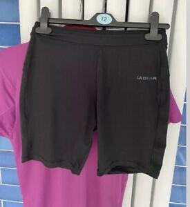 LA Gear Womens Matchin Shorts And Tshirt Gym Wear Size 12