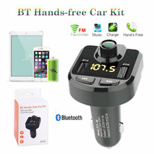 FM Transmisor MP3 TF U-Disk manos BT36 3.1A USB Car Kit inalámbrico Bluetooth