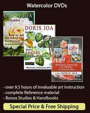 Watercolor Instruction DVDs: Complete Set: 9.5 hrs. How to Paint in Watercolor