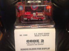 Code 3 U.S. Coast Guard Mack C Pumper Fire Truck 497 (12465)
