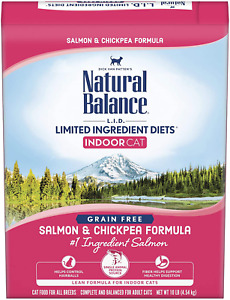 Natural Balance L.I.D. Limited Ingredient Diets Dry Cat Food For Indoor Cats, Gr